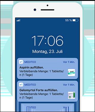 Beipackzettel in der App